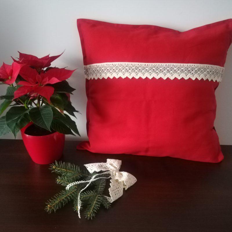 Świąteczna poszewka na poduszkę